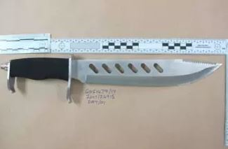 Knife used in stabbing in Fulham