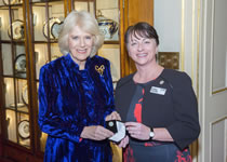 Royal Reception For Local Hospice