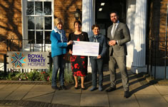 Hospice Receives Over £31,000 Of Festive Good Will
