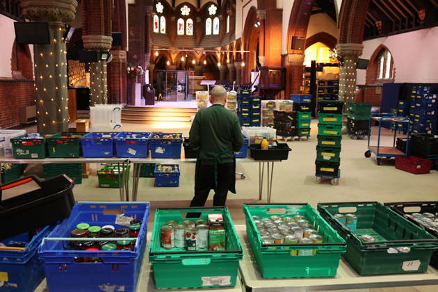 Sharp Increase In Referrals To Foodbank in Wandsworth
