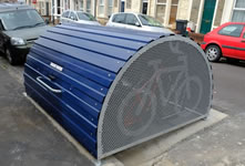 New On-Line Bike Hangar Application System Approved