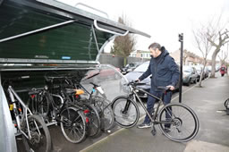 Significant Investment Granted For Cycle Parking Spaces In Town Centres