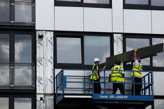 cladding replacement