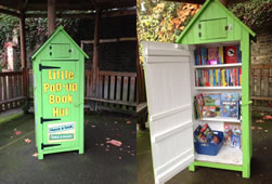 West Hill Primary School Gets A Pop-Up Book Hut