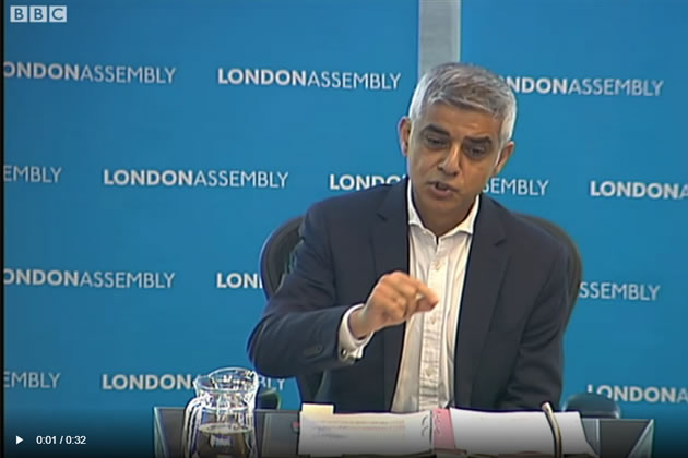 Sadiq Khan well ahead in polls for London Mayor