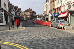 Southfields Shopping Area Makeover Continues