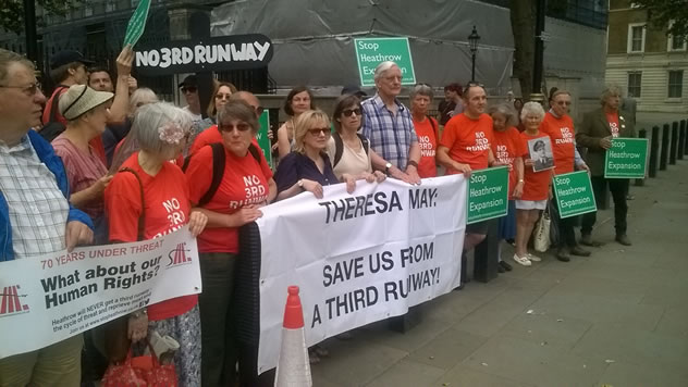 'No Third Runway' Appeal To Prime Minister