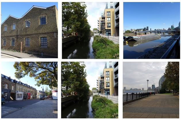 Views of the Wandle Delta