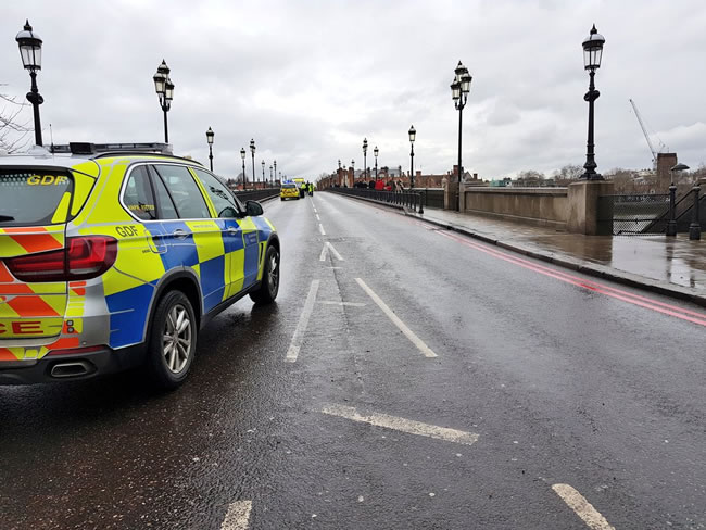 Woman, Man And Baby Hospitalised After Bridge Crash In Wandsworth