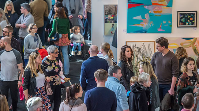 Battersea Park's Affordable Art Fair returns this Spring