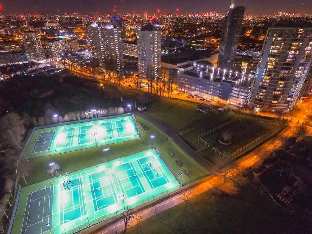 £500k King George's Park Tennis Courts Upgrade Now Complete  in Wandsworth SW18