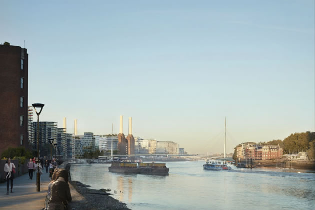 Location Of New Nine Elms To Pimlico Bridge Is Approved