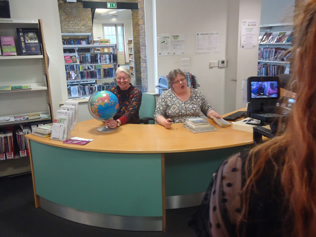 Wandsworth Librarians Star On The One Show