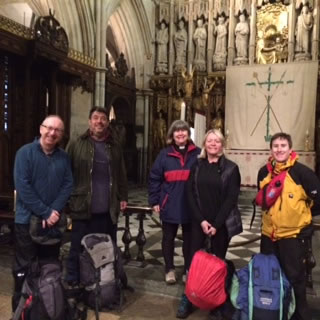 Parishioners Complete 80 Mile Trip To Raise Much Needed Repair Funds in Wandsworth SW18