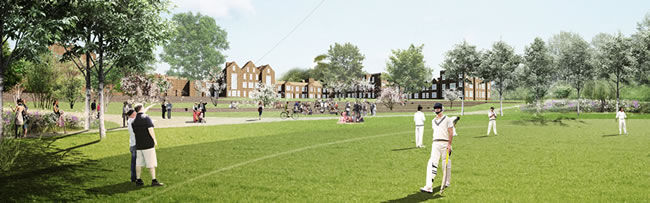 New Public Green Space For Wandsworth