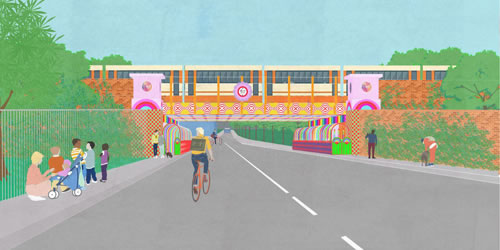 Have Your Say On New Underpass Design For Thessaly Road In Wandsworth