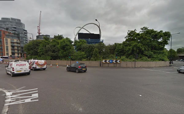 Wandsworth Roundabout Identified As One Of London's Most Dangerous