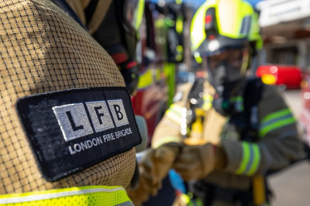 Firefighters Rescue Man from Wandsworth House Fire